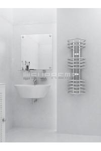 300x900 mm Design Badheizkörper Chrom