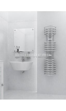 300x1200 mm Design Badheizkörper Chrom