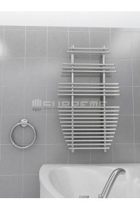 700x1190 mm Design Badheizkörper Chrom