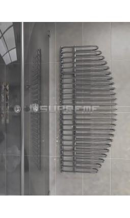 600x1400 mm Design Badheizkörper Chrom