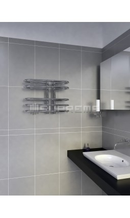 500x400 mm Design Badheizkörper Chrom