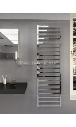 500x1700 mm Design Badheizkörper Chrom mit Vierkantrohre