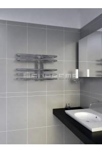 600x400 mm Design Badheizkörper Chrom