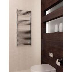 500x1200 mm Design Badheizkörper Chrom Rohr auf Rohr