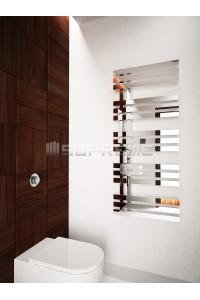 500x1200 mm Design Badheizkörper Spiegeleffekt Chrom