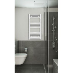 400 x 800 mm Weiss Gebogen Badheizkörper