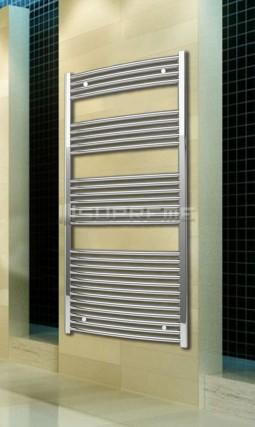700 x 1500 mm Chrom Gebogen Badheizkörper