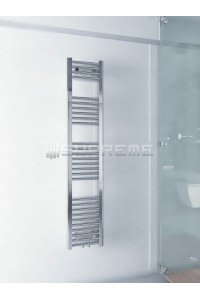 300x1500 mm Mittelanschluss Chrom Badheizkörper