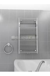 600x1100 mm Mittelanschluss Chrom Badheizkörper