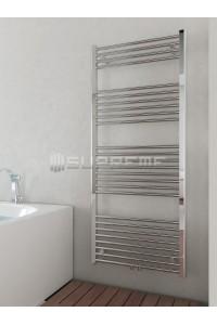 600x1400 mm Mittelanschluss Chrom Badheizkörper