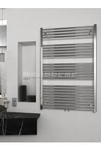 800x1200 mm Mittelanschluss Chrom Badheizkörper