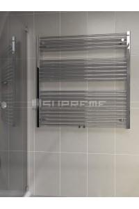 1000x1000 mm Mittelanschluss Chrom Badheizkörper