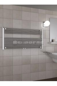 1200x600 mm Mittelanschluss Chrom Badheizkörper