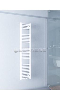 300 x 1500 mm Mittelanschluss Weiss Badheizkörper