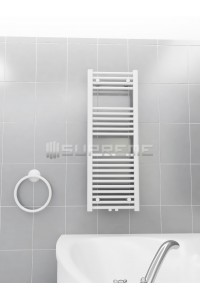 400 x 1100 mm Mittelanschluss Weiss Badheizkörper