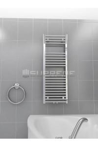 400x1100 mm Mittelanschluss Chrom Badheizkörper