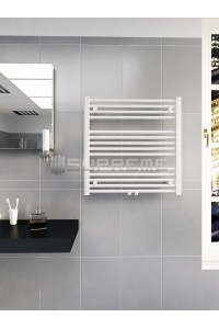 Mittelanschluss Weiss Badheizkörper 700x700 mm