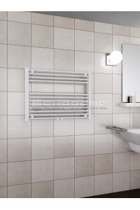 800 x 600 mm Mittelanschluss Weiss Badheizkörper