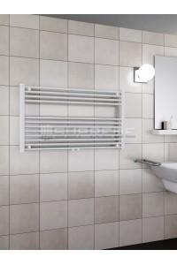 1000 x 600 mm Mittelanschluss Weiss Badheizkörper