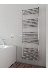 500x1400 mm Mittelanschluss Chrom Badheizkörper