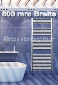 600 mm Breite Badheizkörper