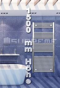 1500 mm Höhe Badheizkörper