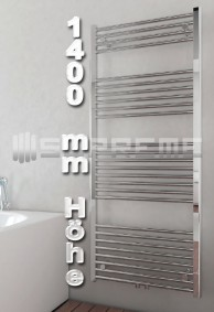 1400 mm Höhe Badheizkörper